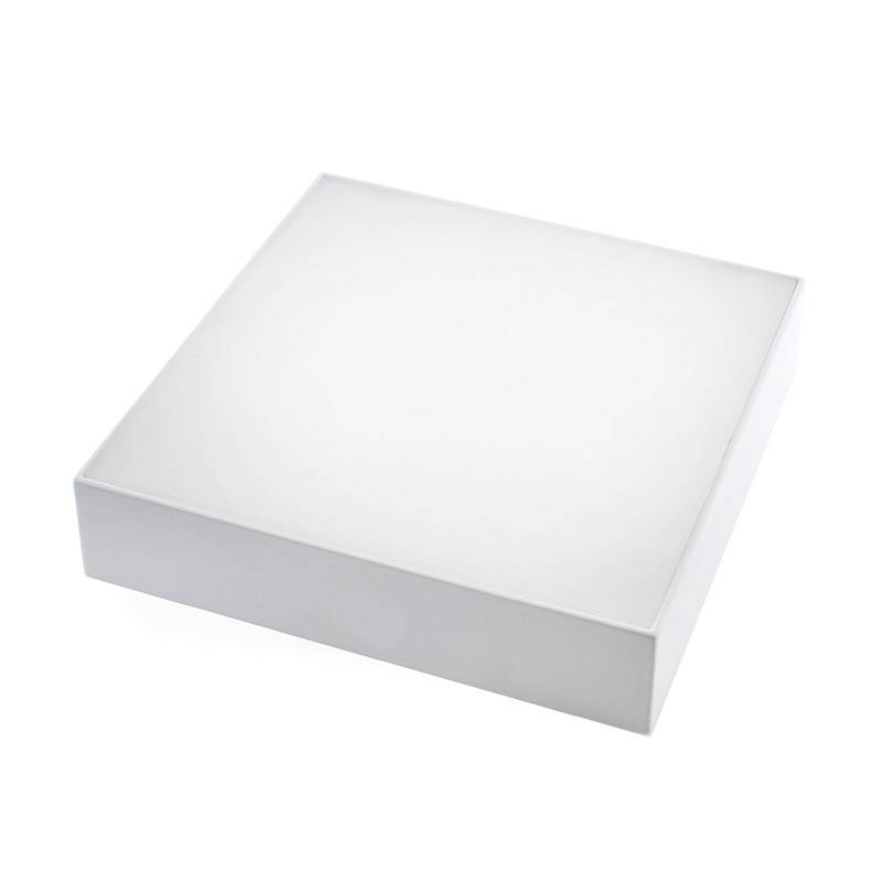 Plafón Led SLIM MARAK Backlight 24W, Blanco cálido